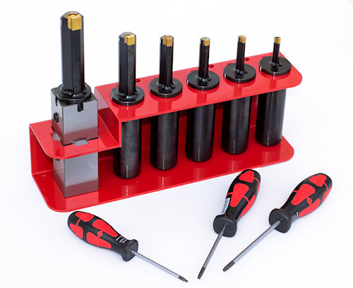 Rev Broaching Tool - KIT 6 Herramientas para ranuradoras 4e7786442b99
